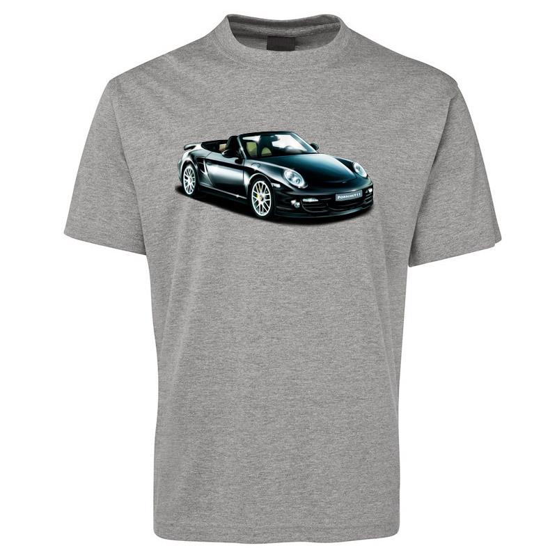 porsche 911 convertible illustrated t shirt. Black Bedroom Furniture Sets. Home Design Ideas
