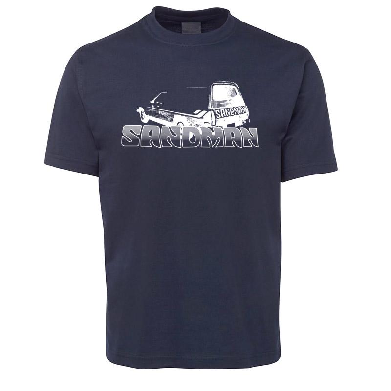 Navy Holden Sandman Retro T Shirt Size Xl